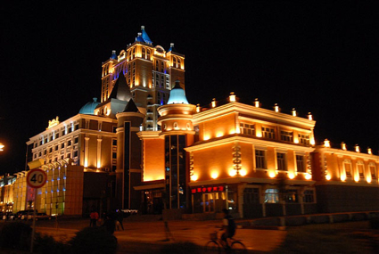 Manzhouli European influenced architecture