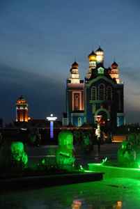 Manzhouli, China, Russian influence
