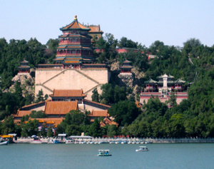 Summer Palace from water, Beijing