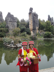 Yunnan female guides, China