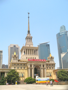 Shanghai, Stalinist architecture influence in China