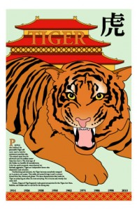 Chinese zodiac year of tiger February 2010